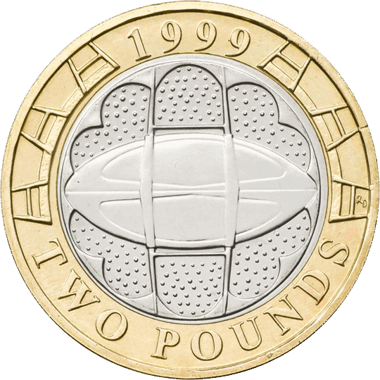 Rugby World Cup £2