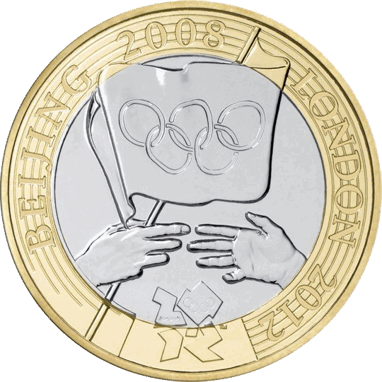 Olympic Games Handover to London £2
