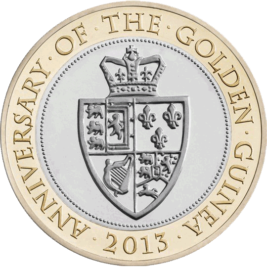 Anniversary of the Guinea £2